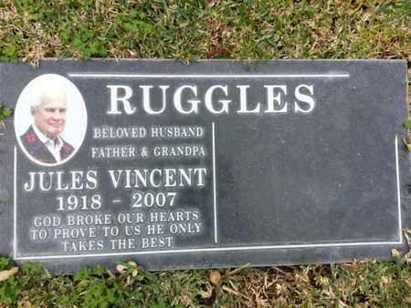 RUGGLES, JULES - Los Angeles County, California | JULES RUGGLES - California Gravestone Photos