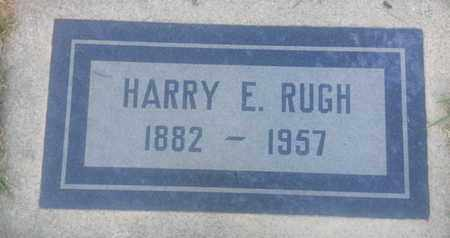 RUGH, HARRY - Los Angeles County, California | HARRY RUGH - California Gravestone Photos