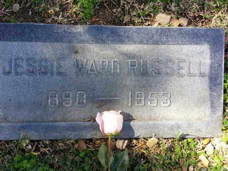 RUSSELL, JESSIE - Los Angeles County, California | JESSIE RUSSELL - California Gravestone Photos