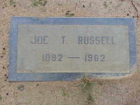 RUSSELL, JOE T. - Los Angeles County, California | JOE T. RUSSELL - California Gravestone Photos