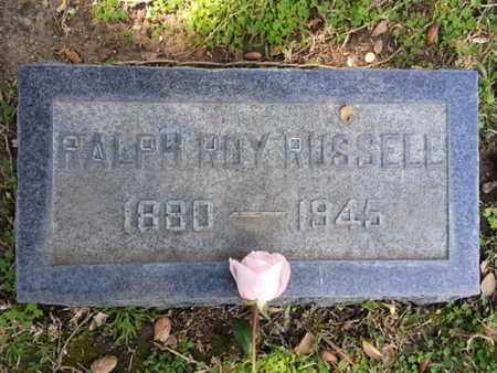 RUSSELL, RALPH - Los Angeles County, California   RALPH RUSSELL - California Gravestone Photos