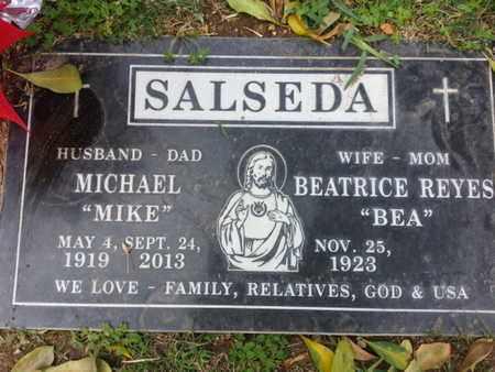 SALSEDA, BEATRICE - Los Angeles County, California | BEATRICE SALSEDA - California Gravestone Photos