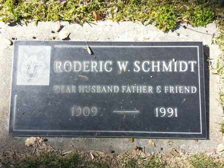 SCHMIDT, RODERIC W. - Los Angeles County, California | RODERIC W. SCHMIDT - California Gravestone Photos