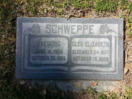 SCHWEPPE, FREDERIC - Los Angeles County, California | FREDERIC SCHWEPPE - California Gravestone Photos