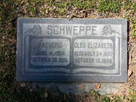SCHWEPPE, CLEO - Los Angeles County, California   CLEO SCHWEPPE - California Gravestone Photos