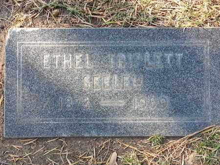 SEELEY, ETHEL - Los Angeles County, California | ETHEL SEELEY - California Gravestone Photos