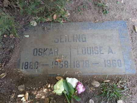 SEILING, OSKAR - Los Angeles County, California | OSKAR SEILING - California Gravestone Photos