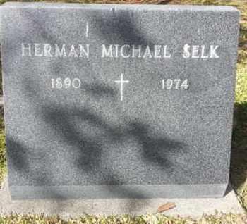 SELK, HERMAN MICHAEL - Los Angeles County, California | HERMAN MICHAEL SELK - California Gravestone Photos