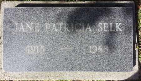 SELK, JAMES PATRICIA - Los Angeles County, California | JAMES PATRICIA SELK - California Gravestone Photos