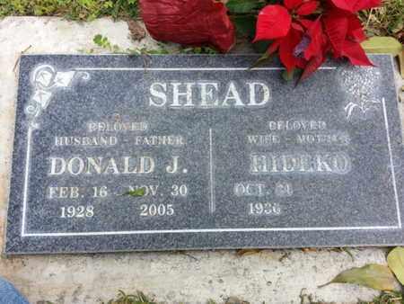 SHEAD, DONALD J. - Los Angeles County, California | DONALD J. SHEAD - California Gravestone Photos