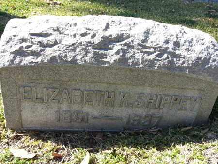 SHIPPEY, ELIZABETH M. - Los Angeles County, California | ELIZABETH M. SHIPPEY - California Gravestone Photos