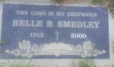 SMEDLEY, BELLE - Los Angeles County, California | BELLE SMEDLEY - California Gravestone Photos