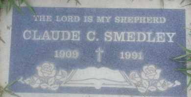 SMEDLEY, CLAUDE - Los Angeles County, California | CLAUDE SMEDLEY - California Gravestone Photos