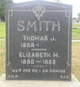 SMITH, ELIZABETH - Los Angeles County, California | ELIZABETH SMITH - California Gravestone Photos