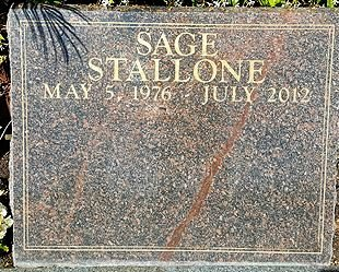 STALLONE, SAGE MOONBLOOD  (ACTOR) - Los Angeles County, California   SAGE MOONBLOOD  (ACTOR) STALLONE - California Gravestone Photos