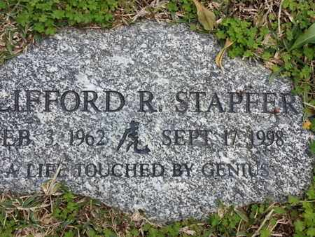 STAPFER, CLIFFORD R. - Los Angeles County, California | CLIFFORD R. STAPFER - California Gravestone Photos