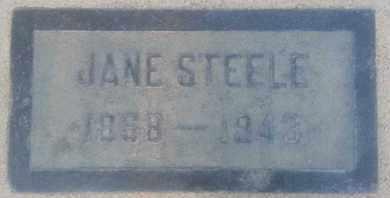 STEELE, JANE - Los Angeles County, California | JANE STEELE - California Gravestone Photos