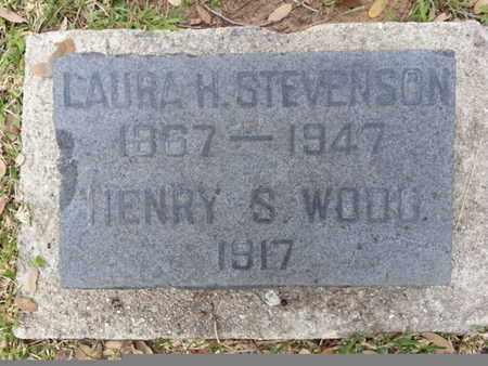 STEVENSON, LAURA H - Los Angeles County, California   LAURA H STEVENSON - California Gravestone Photos