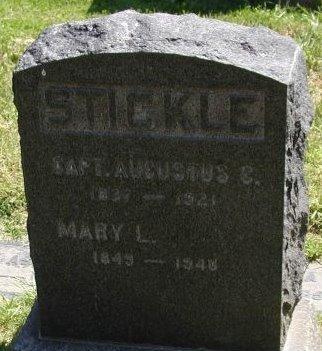 STICKLE, AUGUSTUS C  [CW] - Los Angeles County, California   AUGUSTUS C  [CW] STICKLE - California Gravestone Photos