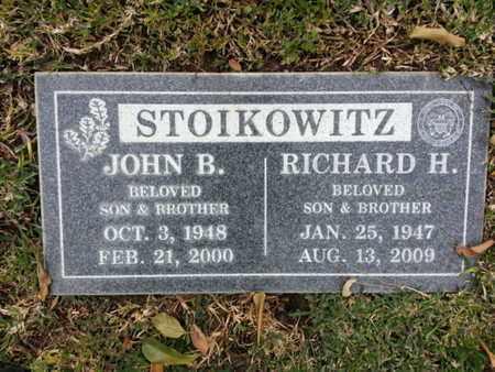 STOIKOWITZ, RICHARD H. - Los Angeles County, California | RICHARD H. STOIKOWITZ - California Gravestone Photos