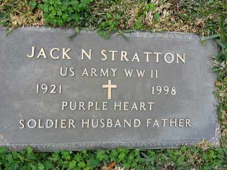STRATTON, JACK N. - Los Angeles County, California | JACK N. STRATTON - California Gravestone Photos