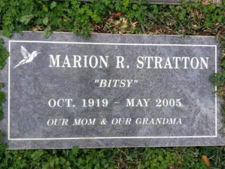 STRATTON, MARION R. - Los Angeles County, California | MARION R. STRATTON - California Gravestone Photos