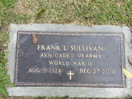 SULLIVAN, FRANK L. - Los Angeles County, California | FRANK L. SULLIVAN - California Gravestone Photos