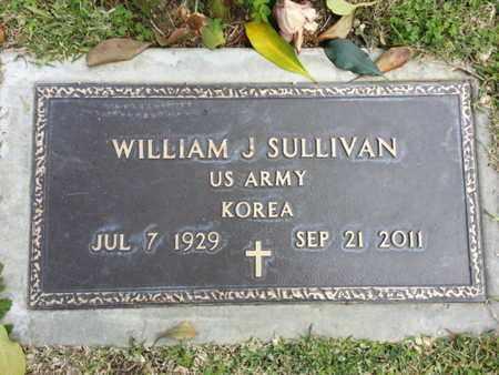 SULLIVAN, WILLIAM J. - Los Angeles County, California   WILLIAM J. SULLIVAN - California Gravestone Photos