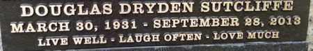 SUTCLIFFE, DOUGLAS DRYDEN - Los Angeles County, California   DOUGLAS DRYDEN SUTCLIFFE - California Gravestone Photos