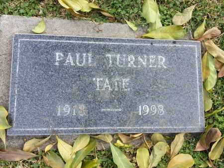 TATE, PAUL TURNER - Los Angeles County, California | PAUL TURNER TATE - California Gravestone Photos
