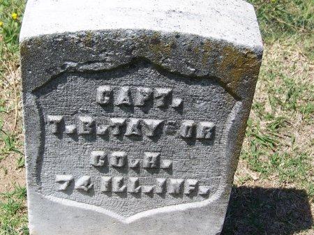 TAYLOR, T. B.  [CW] - Los Angeles County, California | T. B.  [CW] TAYLOR - California Gravestone Photos