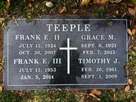 TEEPLE II, FRANE E. - Los Angeles County, California | FRANE E. TEEPLE II - California Gravestone Photos