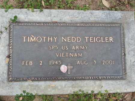 TEIGLER, TIMOTHY NEDD - Los Angeles County, California   TIMOTHY NEDD TEIGLER - California Gravestone Photos