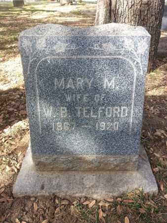 TELFORD, MARY M. - Los Angeles County, California | MARY M. TELFORD - California Gravestone Photos
