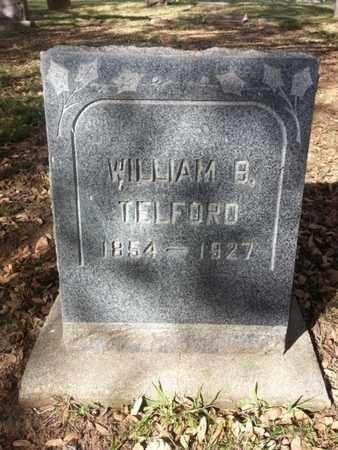 TELFORD, WILLIAM B. - Los Angeles County, California | WILLIAM B. TELFORD - California Gravestone Photos