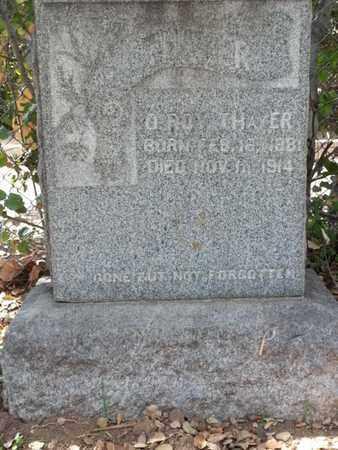 THAYER, O ROY - Los Angeles County, California | O ROY THAYER - California Gravestone Photos