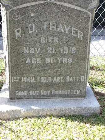 THAYER, R. O. - Los Angeles County, California | R. O. THAYER - California Gravestone Photos