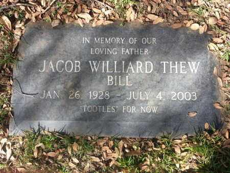 THEW, JACOB WILLIARD - Los Angeles County, California | JACOB WILLIARD THEW - California Gravestone Photos