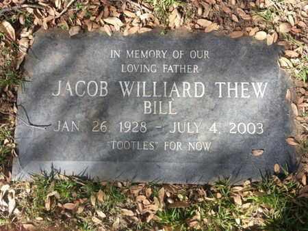 THEW, JACOB WILLIARD - Los Angeles County, California | JACOB WILLIARD THEW - California Gravestone Photos