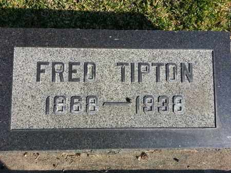 TIPTON, FRED - Los Angeles County, California | FRED TIPTON - California Gravestone Photos