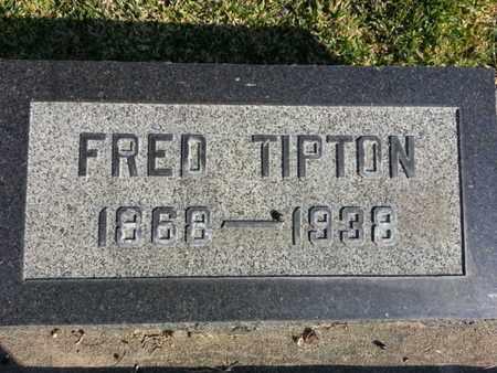 TIPTON, FRED - Los Angeles County, California   FRED TIPTON - California Gravestone Photos