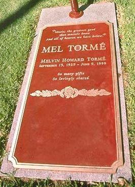 "TORME, MELVIN HOWARD ""MEL"" (SINGER) - Los Angeles County, California | MELVIN HOWARD ""MEL"" (SINGER) TORME - California Gravestone Photos"