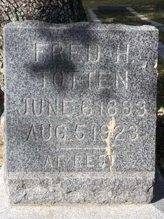 TOTTEN, FRED H. - Los Angeles County, California | FRED H. TOTTEN - California Gravestone Photos