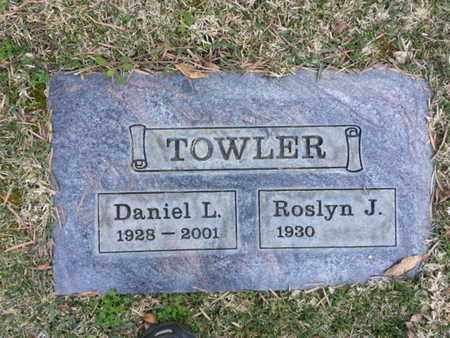 TOWLER, ROSLYN J. - Los Angeles County, California | ROSLYN J. TOWLER - California Gravestone Photos