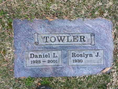 TOWLER, ROSLYN J. - Los Angeles County, California | ROSLYN J. TOWLER - California Gravestone Photos