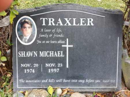 TRAXLER, SHAWN MICHAEL - Los Angeles County, California   SHAWN MICHAEL TRAXLER - California Gravestone Photos