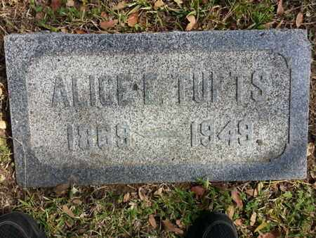 TUFTS, ALICE E - Los Angeles County, California | ALICE E TUFTS - California Gravestone Photos