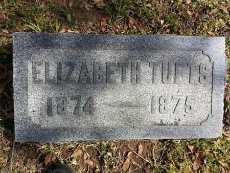 TUFTS, ELIZABETH - Los Angeles County, California   ELIZABETH TUFTS - California Gravestone Photos