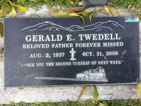 TWEDELL, GERALD E. - Los Angeles County, California | GERALD E. TWEDELL - California Gravestone Photos