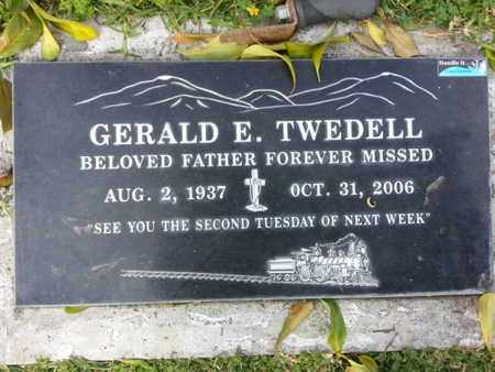 TWEDELL, GERALD E. - Los Angeles County, California | GERALD E. TWEDELL - California Gravestone Photos